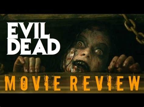 evil dead film in youtube evil dead movie review by chris stuckmann youtube