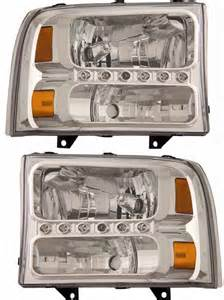 ford f250 f350 superduty one headlight
