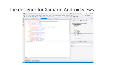 xamarin android layout folder building your first android app using xamarin gill cleeren