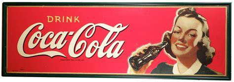 imagenes retro coca cola early coca cola wood sign