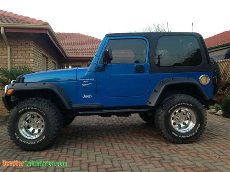 Jeep For Sale In South Africa 2000 Jeep Wrangler Used Car For Sale In Johannesburg City
