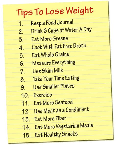 5 How Tos Of Losing Weight And Remaining Sound by Weight Watchers Tips To Lose Weight Skinnytaste