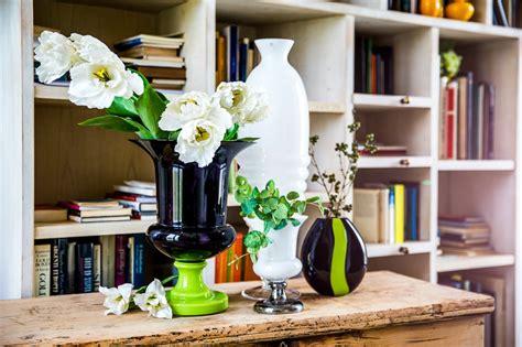 vasi alti per interni vasi moderni da interno arredare con i fiori foto per