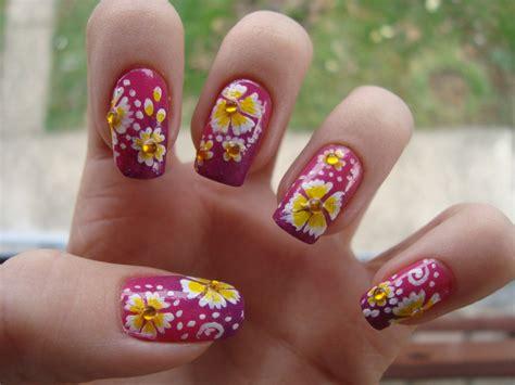 design flower nail art nail arts flowers nail art designs