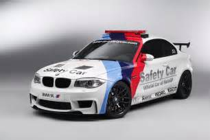bmw 1 series m coupe serves as motogp safety car the