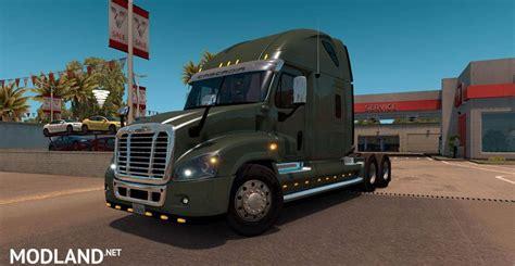 freightliner cascadia edited  solaris mod  american truck simulator ats