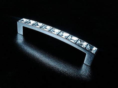 crystal drawer handles nz 3 75 quot glass crystal look dresser pull acrylic drawer