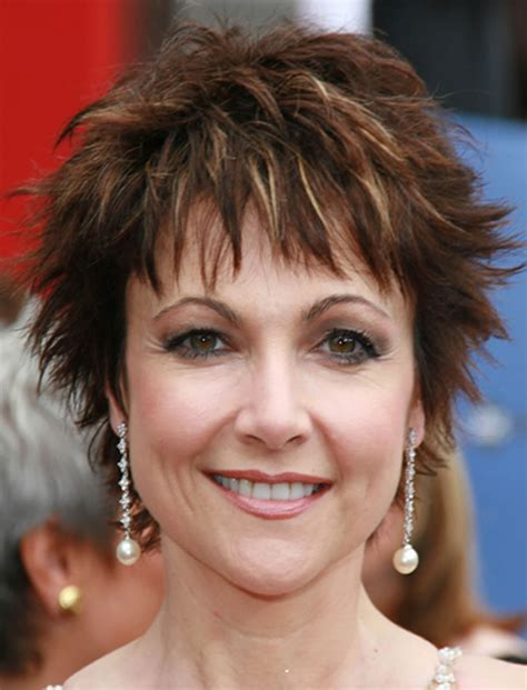 medium shaggy hairstyle for women over 40 85 rejuvenating short hairstyles for women over 40 to 50