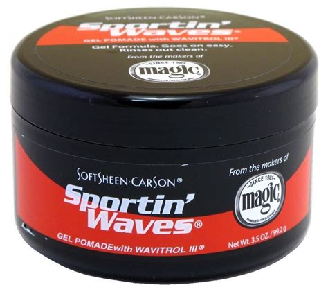 Pomade Ebay soft sheen sportin waves gel pomade 3 5 oz 75285205204