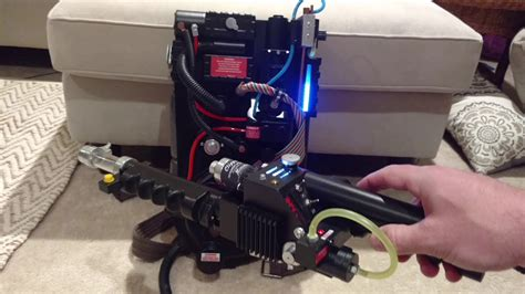 Proton Pack Sound by Ghostbusters Arduino Proton Pack Lights And Sounds Demo