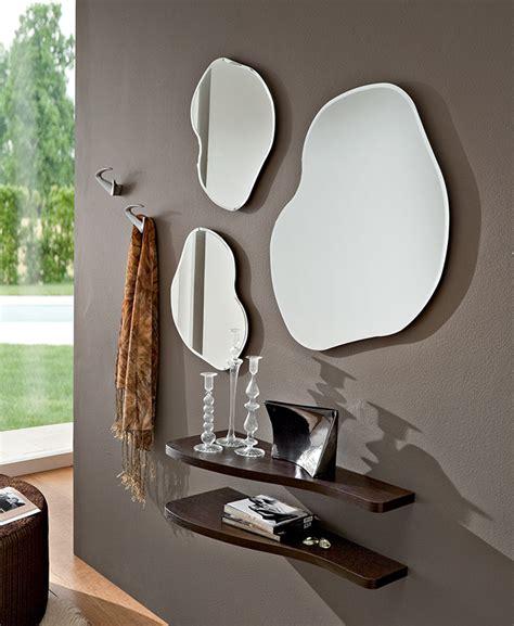 mensole ingresso mobile moderno specchio ingresso con mensole mod nancy