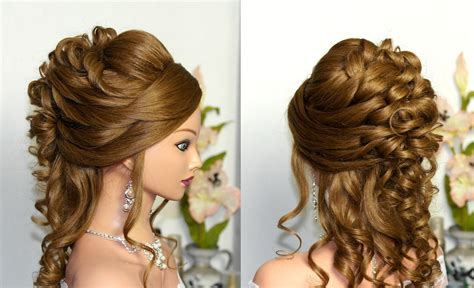 Beautiful Curly Hairstyles by Top Beautiful Prom Hairstyle For Hair Fashionexprez