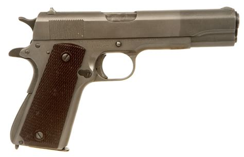 deactivated wwii colt 1911a1 manufactured by union switch