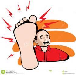 douleur de pied image stock image 16209411