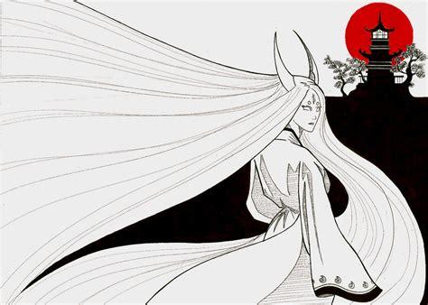 Kaguya Ootsutsuki by peterfrancisfahy Kaguya Ootsutsuki Wallpaper