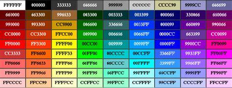 colores hexadecimales processing para artistas color