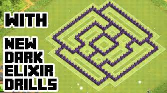 Clash of clans th7 trophy base best town hall 7 defense with new