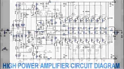Power Lifier Kelas H 1000w power lifier schematics get free image about