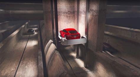 elon musk s underground traffic tunnel looks like