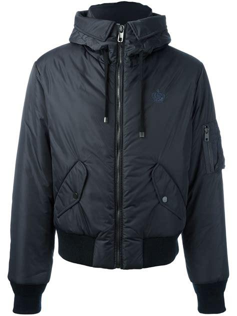 light blue bomber jacket mens dolce gabbana padded bomber jacket men clothing dolce