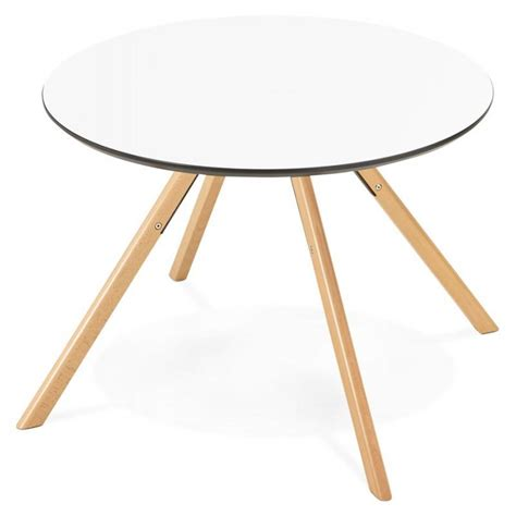But Table Haute 3995 by Table De Repas Ronde Scandinave Biba En Bois Et H 234 Tre 216