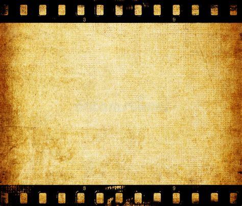 Aged Wallpaper With Film Strip Border Stock Illustration | aged wallpaper with film strip border stock illustration