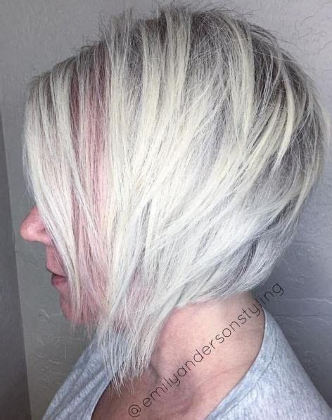 prominents gray hair 60 most prominent hairstyles for women over 40 layered