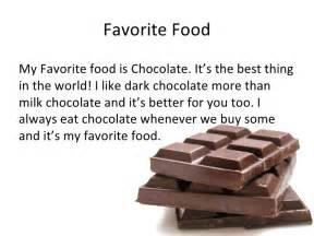 Essay My Favorite Food by My Favorite Food