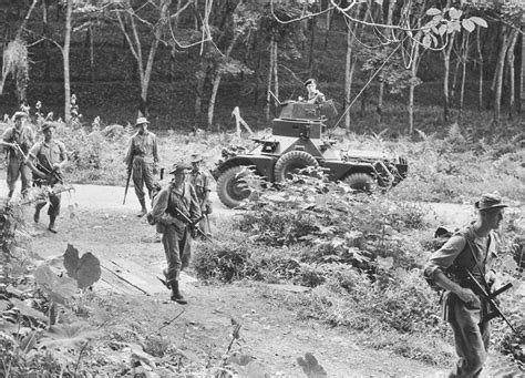 Holding The Line In Malaya Historynet