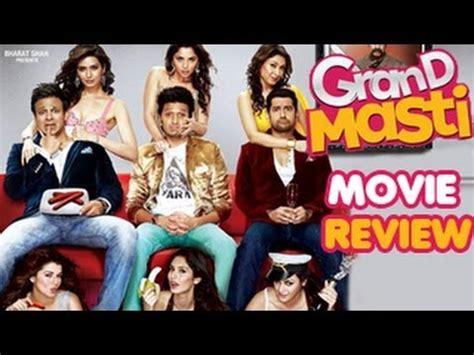 comedy film grand masti grand masti movie review obnoxious comedy youtube
