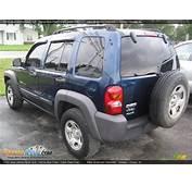 2003 Jeep Liberty Sport 4x4 Patriot Blue Pearl / Dark