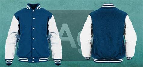 desain jaket hoodie coreldraw varsity letterman jacket mockup mockup pinterest