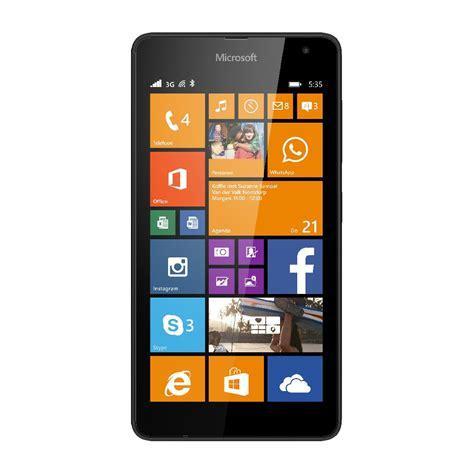 Pasaran Hp Nokia Lumia 535 nokia lumia 535 ss black vanroey be webstore