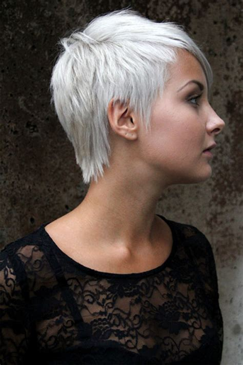 funky hairstyle for silver hair grey hair dos white short funky hairstyles short funky