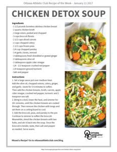 Chicken Detox Soup Cleanse by Chicken Detox Soup Oac
