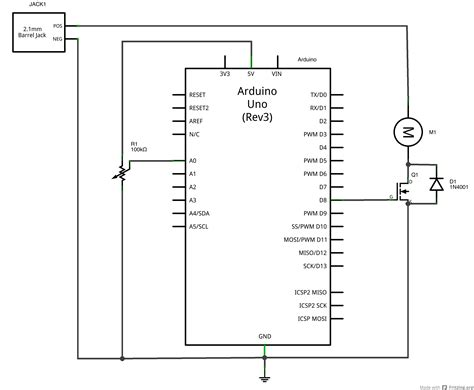 transistor mosfet pwm physical computing at itp tutorials using a transistor to high current loads with an
