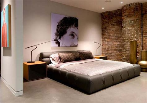 Interior Design For Bedroom Walls Bedroom Brick Wall Design Ideas
