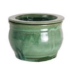 self watering pots 6 quot aqua round african violet pot