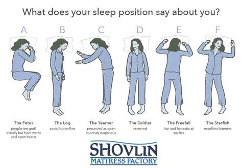 sleeping position blog the mattress factory