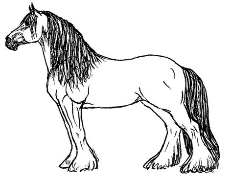 pictures of horses to color coloring pages for your printable