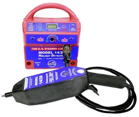 high voltage detector rental de stearns 14 20 high voltage pinhole detector
