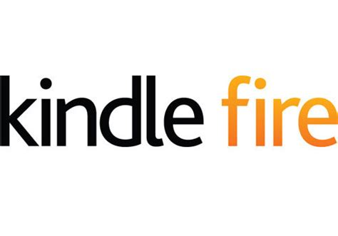 amazon fire amazon kindle logo and marketing fonts in use