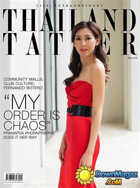 thailand tatler june    magazines