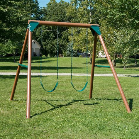 s swing swing n slide equinox swing set lowe s canada