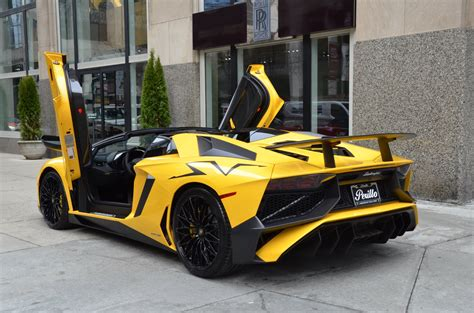 lamborghini aventador sv roadster cost 2017 lamborghini aventador lp 750 4 sv roadster stock 06016 for sale near chicago il il