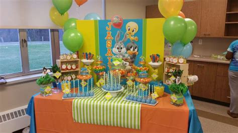 Baby Looney Tunes Baby Shower Supplies by Baby Looney Tunes Baby Shower Ideas Photo 3 Of 8