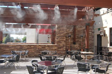 Commercial Patio Misters by Restaurant Cooling Misting Pros