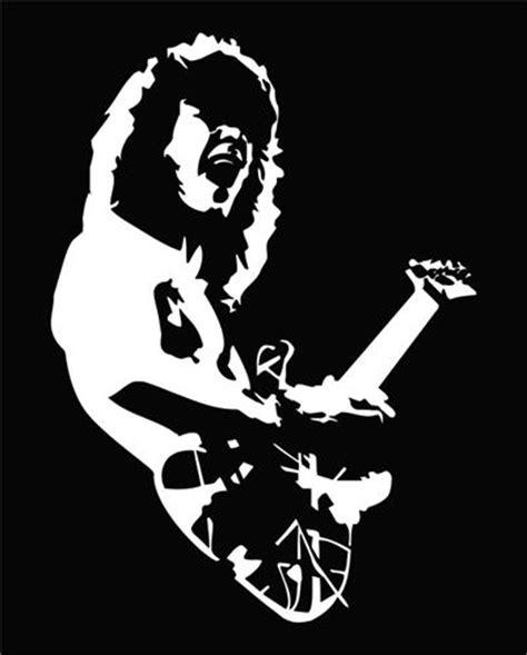 Cutting Sticker Band Halen eddie halen jpeg