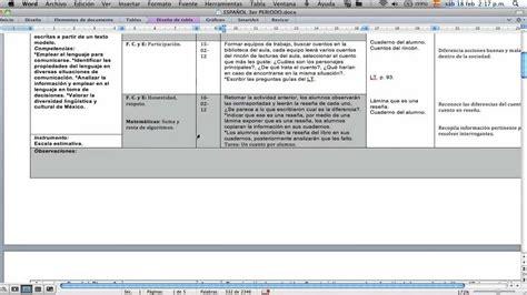 planeacion semanal ingles de segundo de secundaria ensayos ejemplo de una planeaci 243 n did 225 ctica primaria marzo 2012
