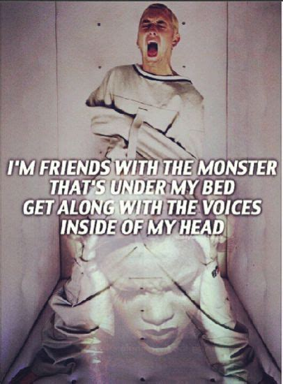 monsters under my bed lyrics on this eminem the monster lyrics com im friends images